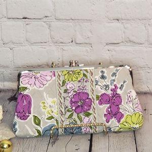 Vera Bradley Patterned Clutch Wallet